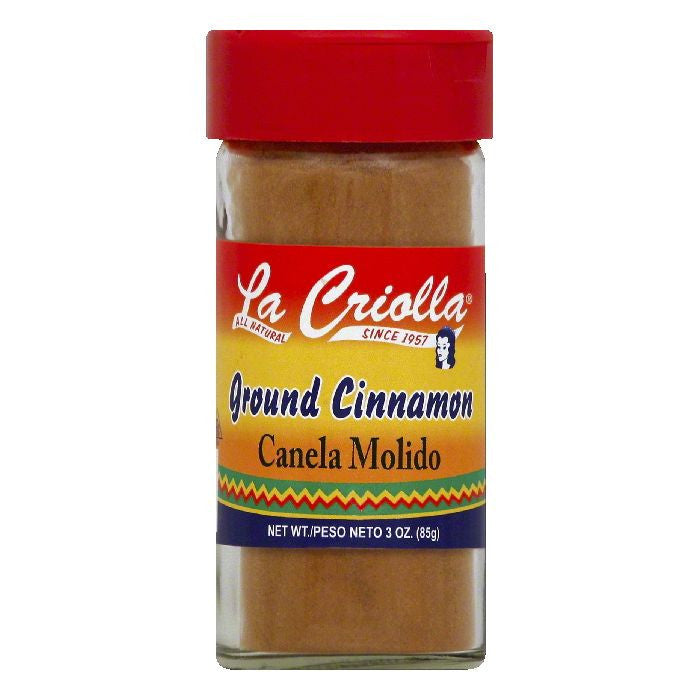 La Criolla Ground Cinnamon, 3 OZ (Pack of 12)