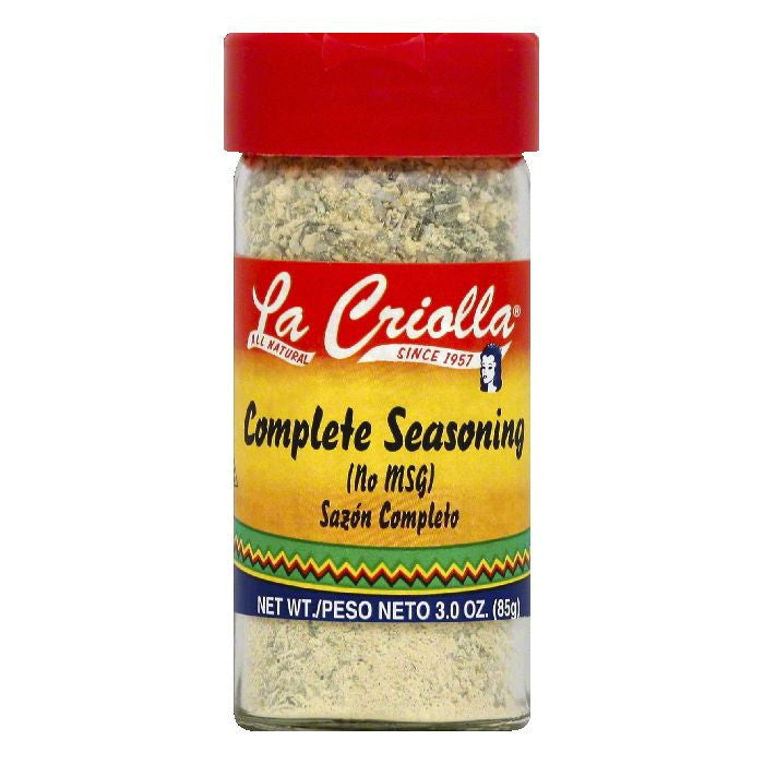 La Criolla Complete Seasoning, 3 OZ (Pack of 12)