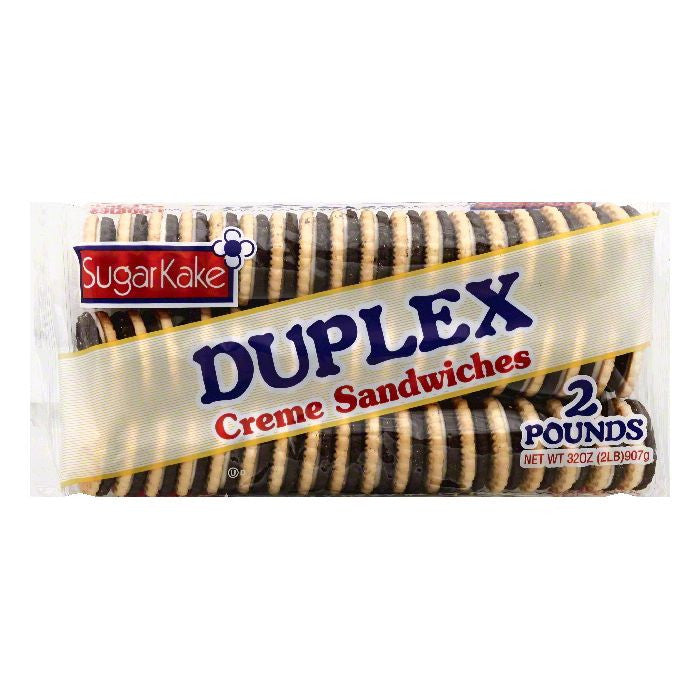 Sugar Kake Duplex Creme Sandwiches Cookies, 32 OZ (Pack of 12)