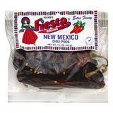 Fiesta Medium-Hot Extra Fancy New Mexico Chili Pods, 1.5 OZ (Pack of 12)