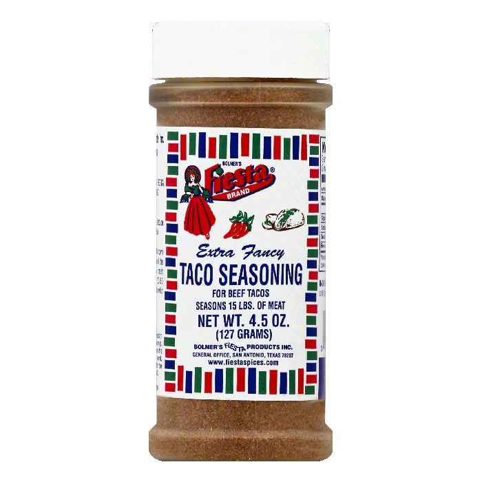 Fiesta Extra Fancy Taco Seasoning, 4.5 OZ (Pack of 6)