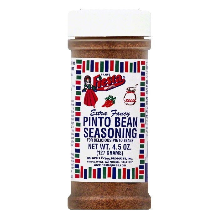 Fiesta Extra Fancy Pinto Bean Seasoning, 4.5 OZ (Pack of 6)