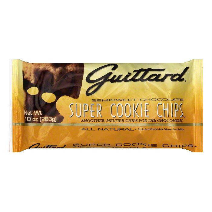 Guittard Chocolate Chips Super Cookie, 10 OZ (Pack of 12)
