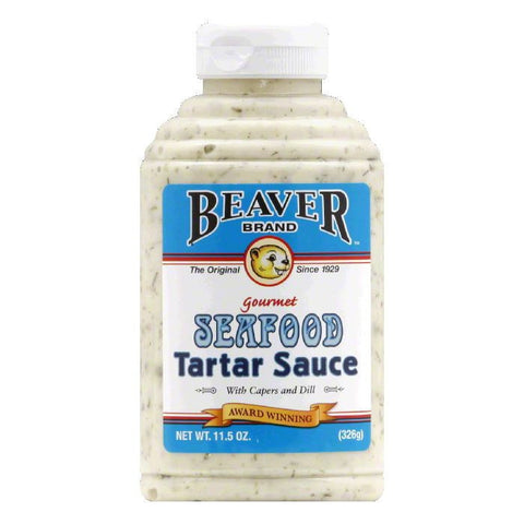 Beaver Tartar Sauce, 11.5 OZ (Pack of 6)