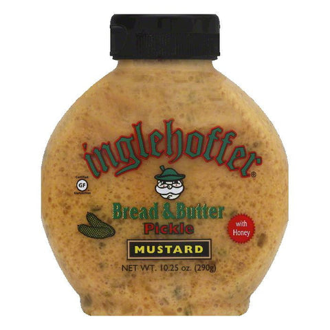 Inglehoffer Bread & Butter Pickle Mustard, 10.25 OZ (Pack of 6)