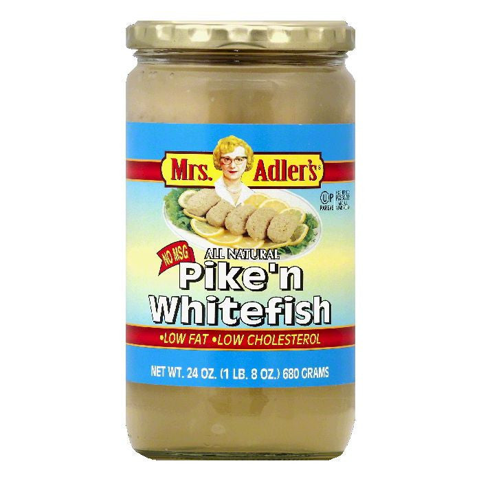 Mrs Adlers Pike'n Whitefish, 24 OZ (Pack of 12)