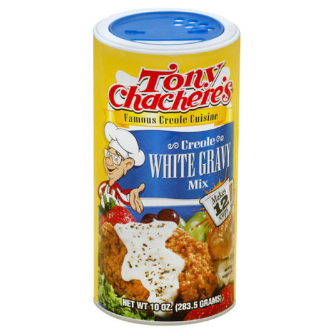 Tony Chacheres Creole White Gravy Mix, 10 Oz (Pack of 12)