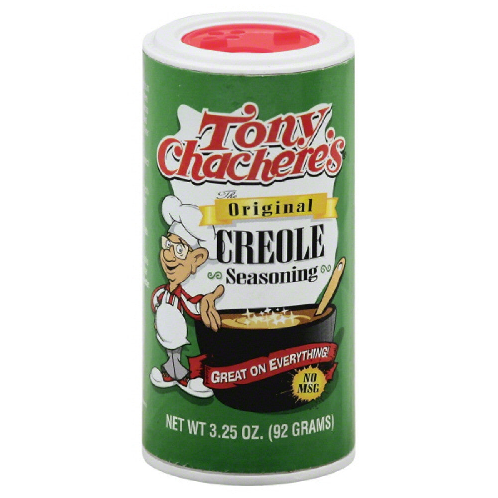 Tony Chacheres The Original Creole Seasoning, 3.25 Oz (Pack of 12)
