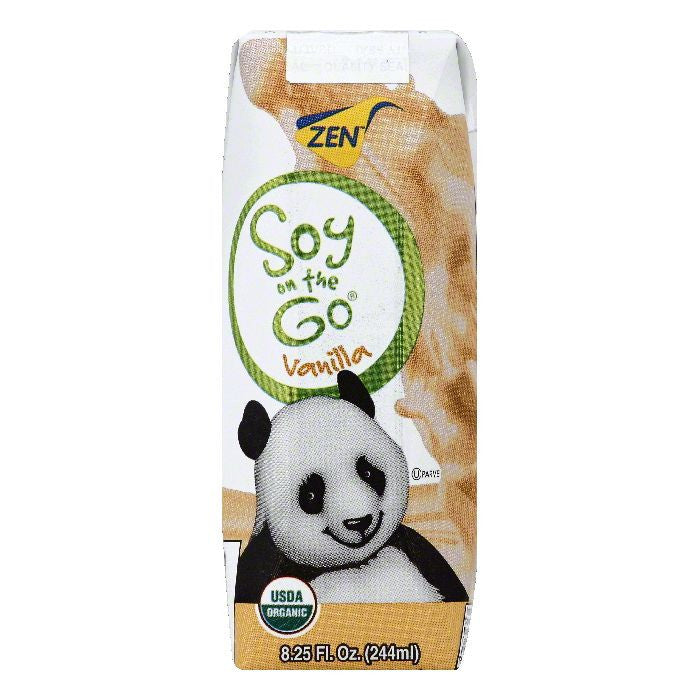 Zen Vanilla Soy Milk, 8.25 OZ (Pack of 15)