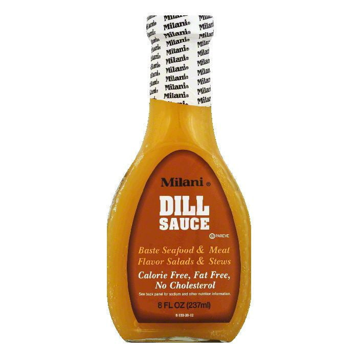Milani Dill Sauce, 8 OZ (Pack of 6)