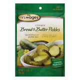 Mrs. Wages Bread Butter Pickle Mix, 5.3 OZ (Pack of 12)