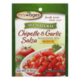 Mrs. Wages Chipotle Garlic Salsa Mix, 0.8 OZ (Pack of 12)