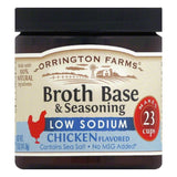 Orrington Farms Low Sodium Chicken Flavor Granular Base, 5 OZ (Pack of 6)
