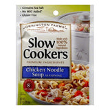 Orrington Farms Chicken Noodle Slow Cookers Soup Seasoning, 2.5 Oz (Pack of 12)