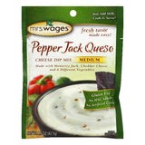 Mrs Wages Medium Pepper Jack Queso Cheese Dip Mix, 1 Oz (Pack of 12)