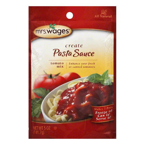Mrs. Wages Spaghetti Sauce, 5 OZ (Pack of 12)