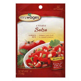Mrs. Wages Salsa Mix, 4 OZ (Pack of 12)