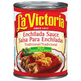 La Victoria Mild Traditional Enchilada Sauce 19 Oz  (Pack of 12)