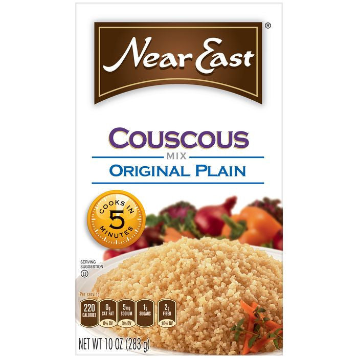 Near East Original Plain Couscous Mix 10 Oz  (Pack of 12)