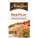 Near East Toasted Almond Rice Pilaf Mix 6.6 Oz  (Pack of 12)