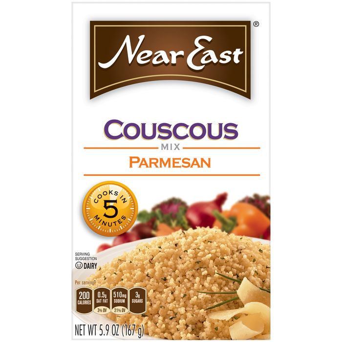 Near East Parmesan Couscous Mix 5.9 Oz  (Pack of 12)