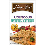 Near East Broccoli & Cheese Couscous Mix 5.4 Oz  (Pack of 12)