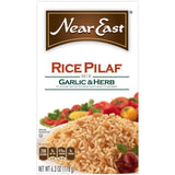Near East Garlic & Herb Rice Pilaf Mix 6.3 Oz  (Pack of 12)