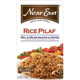 Near East Wild Mushroom & Herb Rice Pilaf Mix 6.3 Oz  (Pack of 12)
