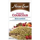 Near East Basil & Herb Pearled Couscous 5 Oz  (Pack of 12)