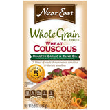 Near East Wheat Couscous Roasted Garlic & Olive Oil Whole Grain Blends 5.8 Oz  (Pack of 12)