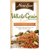 Near East Roasted Pe & Garlic Whole Grain Blends 5.4 Oz  (Pack of 12)