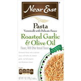 Near East Roasted Garlic & Olive Oil Vermicelli Pasta Mix 7 Oz  (Pack of 12)
