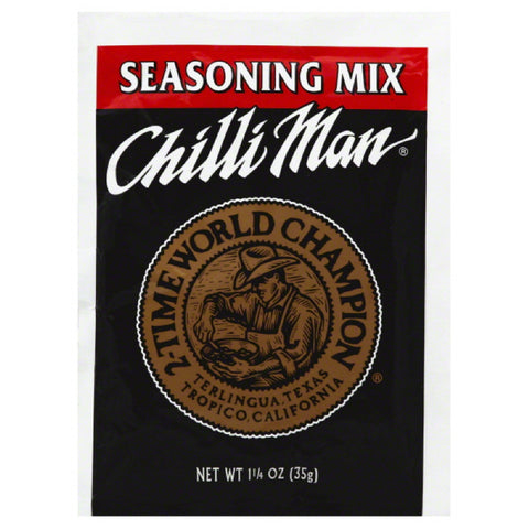 Chilli Man Seasoning Mix, 1.25 Oz (Pack of 24)