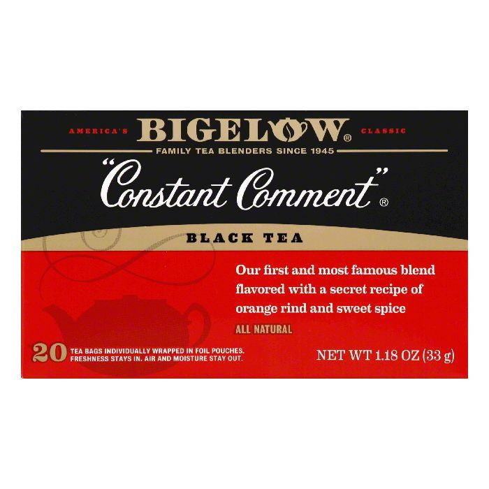 Bigelow Special Blend Constant Comment Tea, 20 BG (Pack of 6)