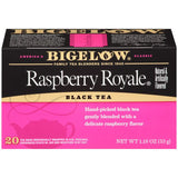 Bigelow Raspberry Royale Black Tea Blend 20 ct  (Pack of 6)