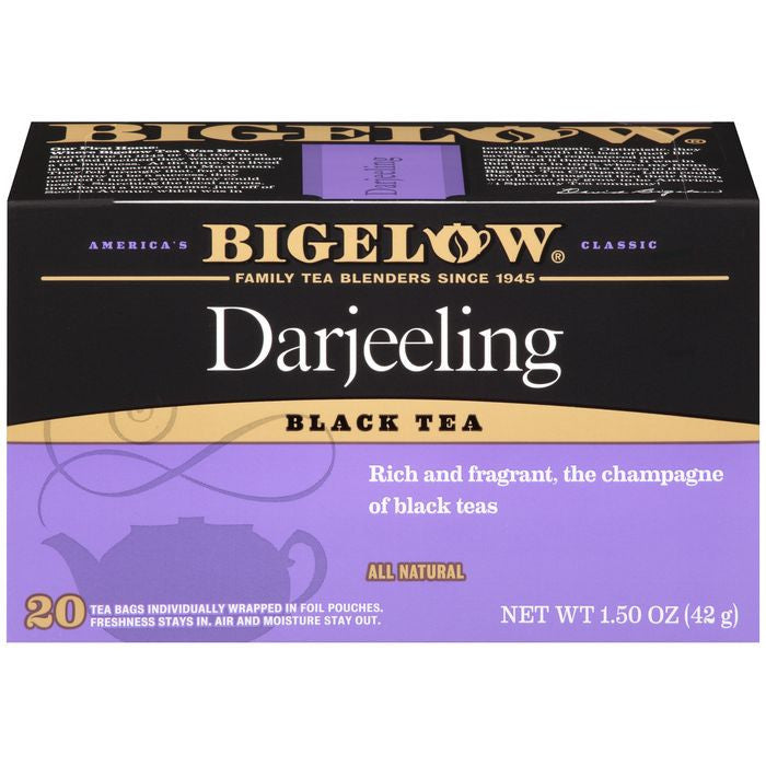 Bigelow Darjeeling Black Tea Blend 20 ct  (Pack of 6)
