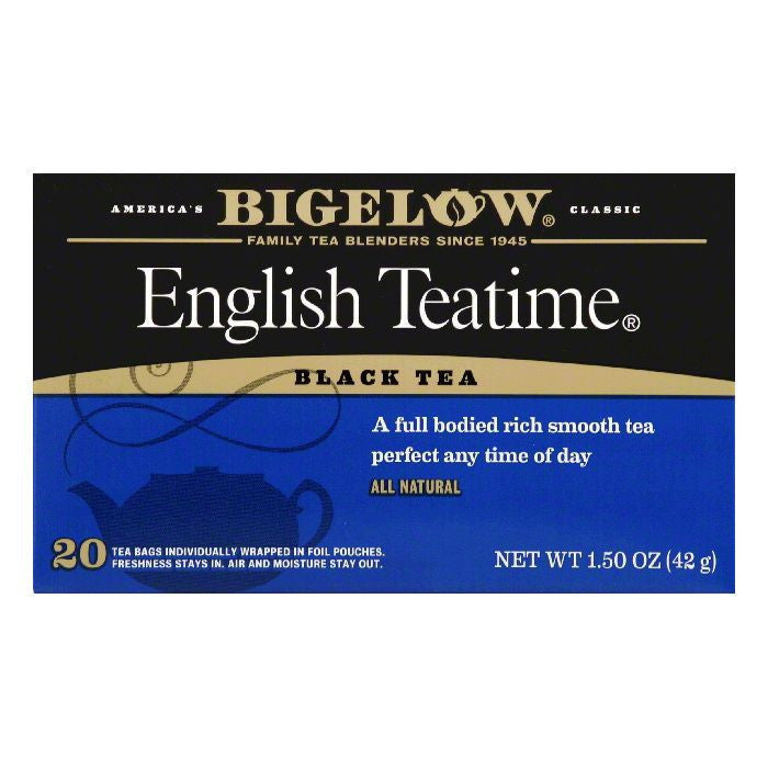Bigelow English Teatime, 20 BG (Pack of 6)