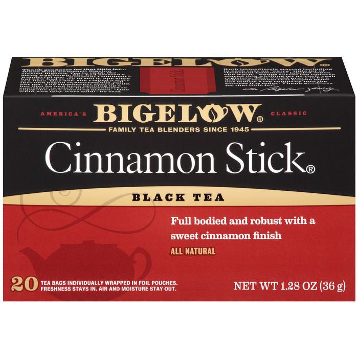 Bigelow Cinnamon Stick Black Tea Blend 20 ct  (Pack of 6)