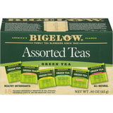 Bigelow Assorted Green Tea 18 ct  (Pack of 6)