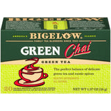 Bigelow Green Tea Green Chai 1.37 Oz  (Pack of 6)
