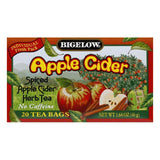 Bigelow Spiced Apple Cider Herb Tea, 20 BG (Pack of 6)