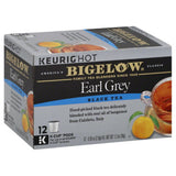 Bigelow Earl Grey Black Tea K-Cup Pods, 12 Ea (Pack of 6)