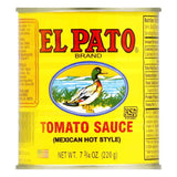 El Pato Hot Tomato Sauce, 7.75 OZ (Pack of 24)