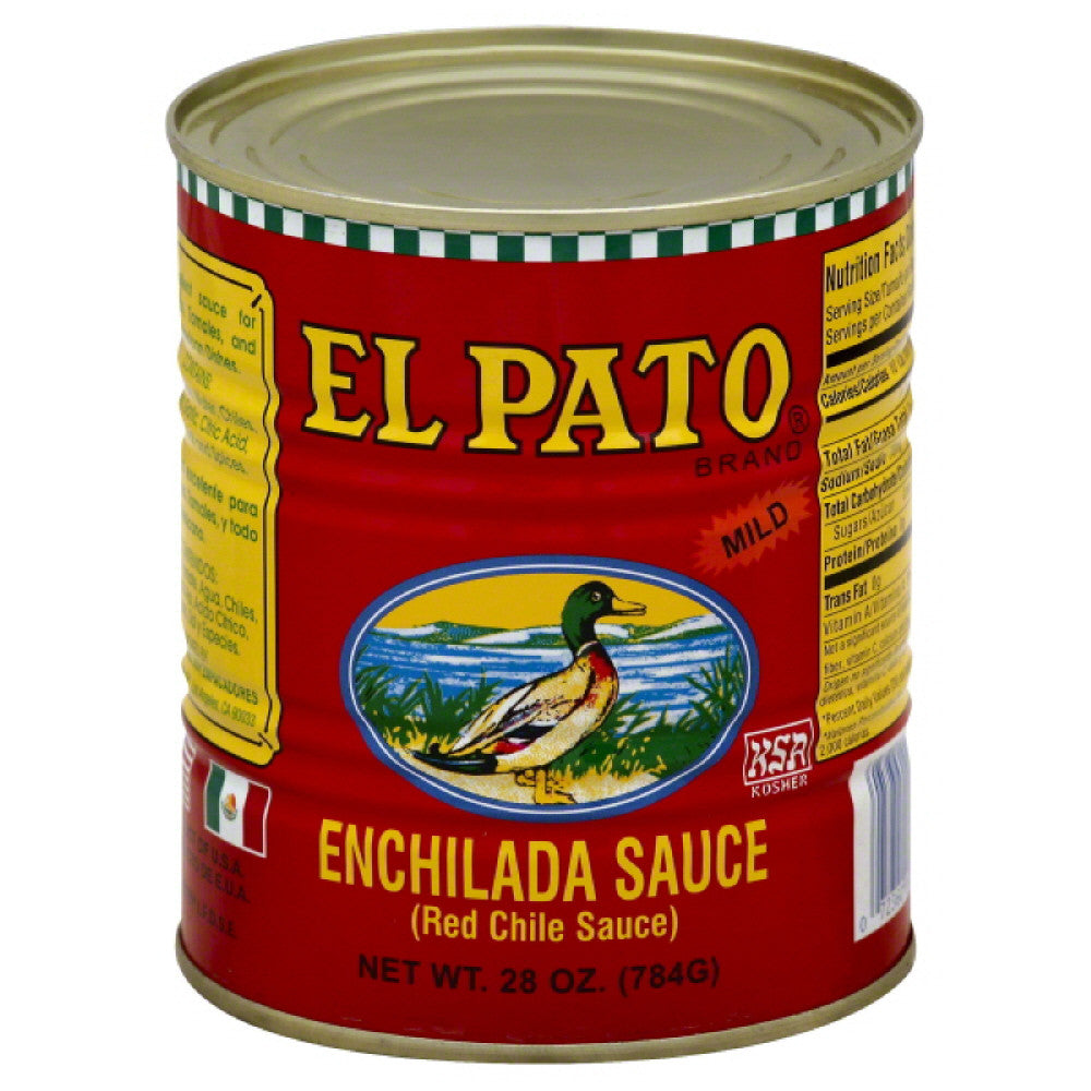 El Pato Mild Enchilada Sauce, 28 Oz (Pack of 12)