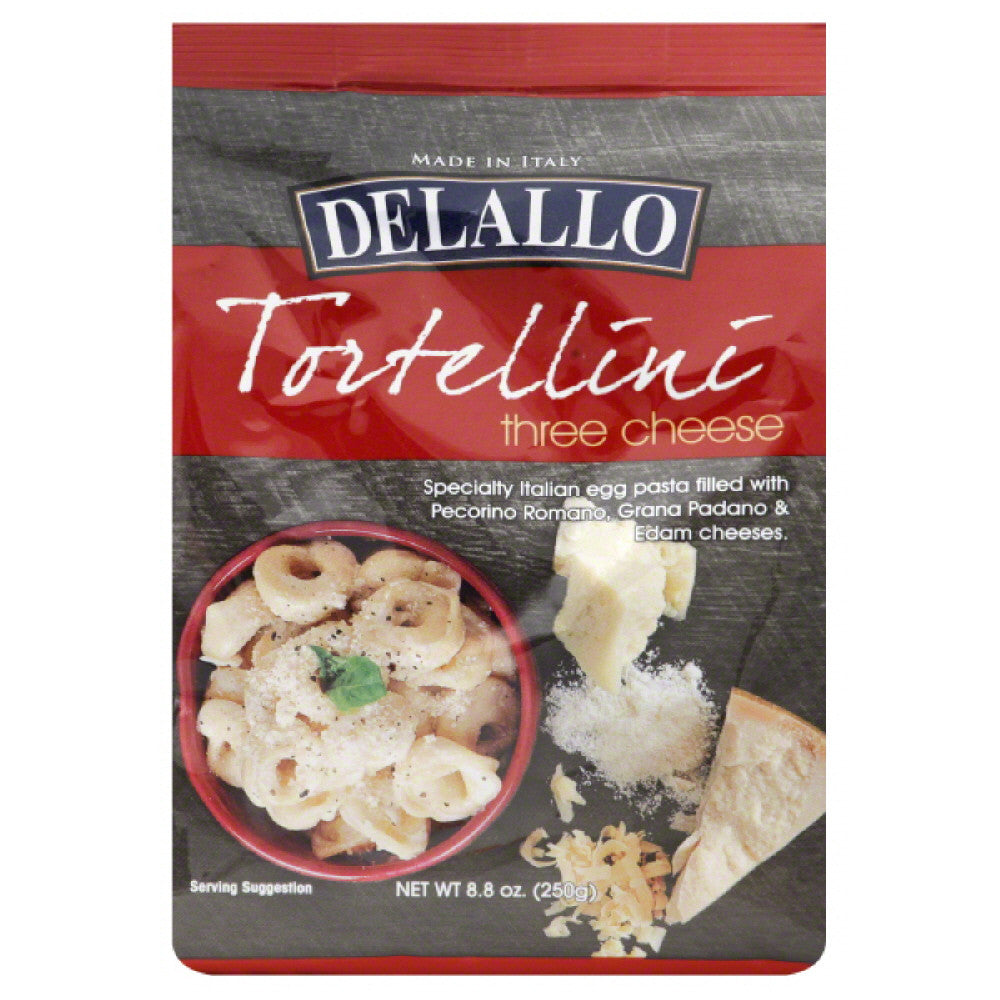DeLallo Three Cheese Tortellini, 8.8 Oz (Pack of 12)