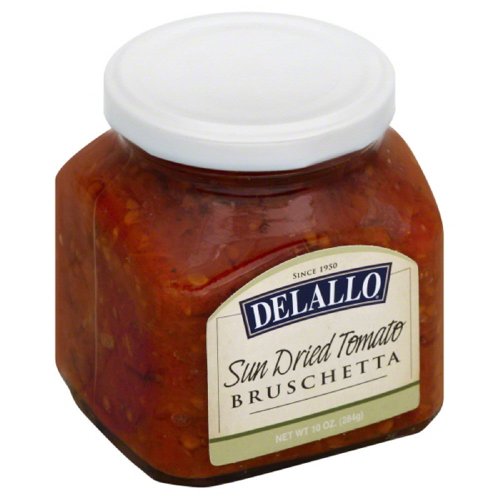 DeLallo Sun Dried Tomato Bruschetta, 10 Oz (Pack of 6)