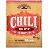 Carroll Shelby's Original Texas Brand Chili Kit 4 packets-4 oz  (Pack of 12)