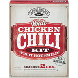 Carroll Shelby's White Chicken Fix It Hot Or Mild Chili Kit 3 Oz  (Pack of 12)