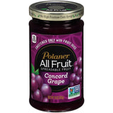 Polaner All Fruit Concord Grape Spreadable Fruit 10 Oz  (Pack of 12)