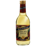Holland House  White Wine Vinegar 12 Oz   (Pack of 6)